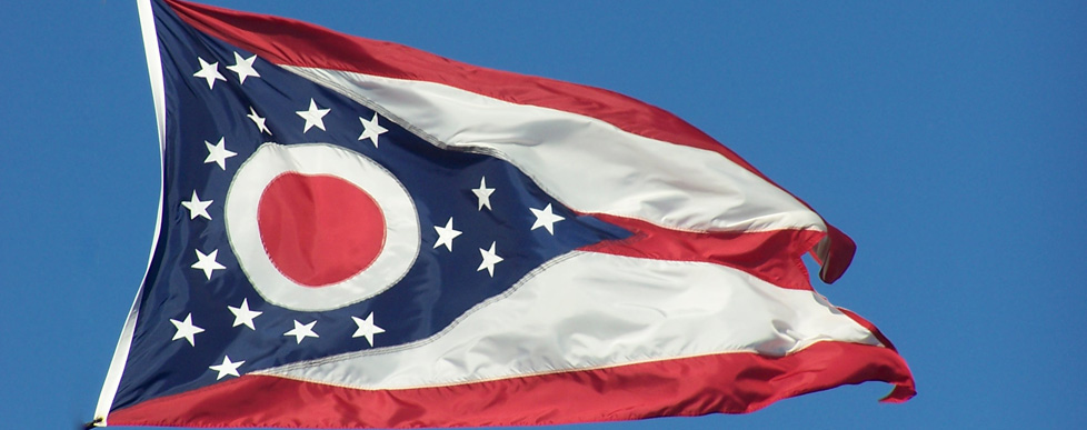 Ohio Flag by J. Stephen Conn